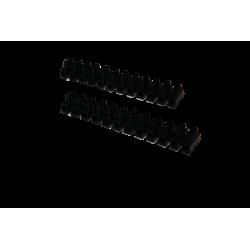 B/10 REGLETAS NEGRAS 6mm 6AMP