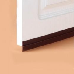 Burlete silicona  6mts marron